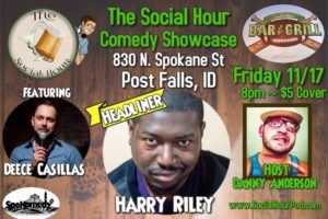 The Social Hour Comedy Showcase at The House of Cards @ The House of Cards Bar