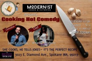 Cooking Hot Comedy @ The Roxie