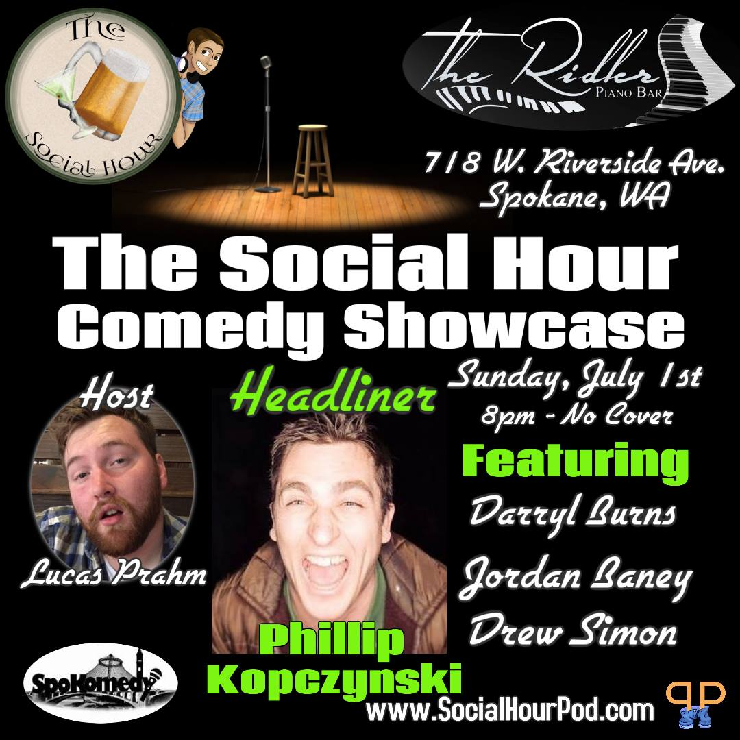 The Social Hour Comedy Showcase at The Ridler @ Ridler Piano Bar