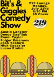 Bits & Giggles Comedy at 219 @ 219 Lounge