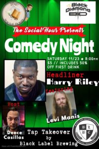 The Social Hour Comedy at The Black Diamond @ Black Diamond
