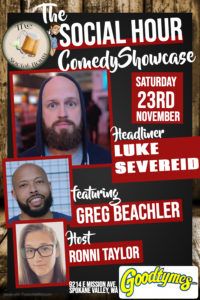 Social Hour Comedy at Goodtymes @ Rockin' Goodtymes
